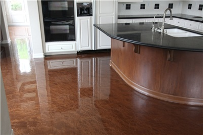 Epoxy Garage Flooring MA NH ME Coating Concrete PaintNH Concrete - Epoxy floor coating for restaurants